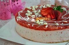 Çilekli Cheesecake Tarifi - http://www.yemekgurmesi.net/cilekli-cheesecake-tarifi.html