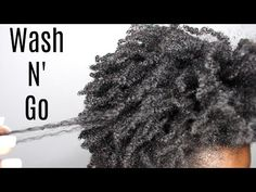 Salon Visit| Wash & Go on 4C Natural Hair - YouTube