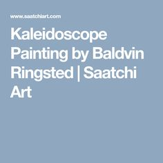 Kaleidoscope Painting by Baldvin Ringsted Spray Paint On Canvas, Spray Painting, Oil Painting On Canvas, The Other Art Fair, Saatchi Art, Original Paintings, Artwork, Work Of Art