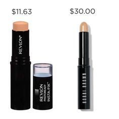 Conceal those dark circles with Revlon Photoready Insta-Fix versus Bobbi Brown Face Touch Up Stick, and save $18.37.