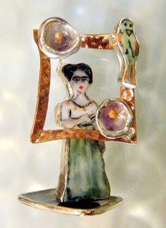 Frida Kahlo Sculpture jewelry