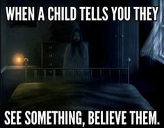 Children are responsive to the paranormal since they haven't grown and been conditioned to not believe in it. Animals are responsive to the paranormal since they have a heightened awareness and heightened senses.