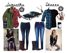 Introduction: Samantha and Deanna Winchester Sporty Outfits, Teen Fashion Outfits, Cool Outfits, Supernatural Halloween Costumes, Supernatural Inspired Outfits, Jedi Outfit, Winchester, Hunter Outfit, Character Inspired Outfits