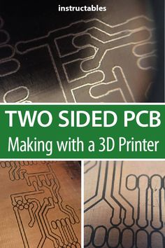 printer design printer projects printer diy Electronics Projects Electronics Projects Make an isolation router type two-sided PCB with a m. 3d Printer Designs, 3d Printer Projects, Diy Electronics, Electronics Projects, Cnc, 3d Laser Printer, Learn Robotics, Robotic Automation, Diy 3d