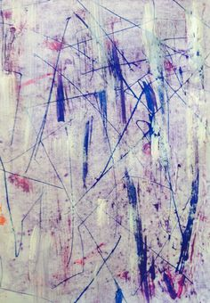 Purple#abtract#painting