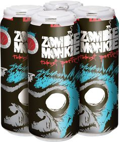 CraftCans.com - Tallgrass Introduces Zombie Monkie Cans Will Feature Textured Grip | I like the textured grip and i like the beer.