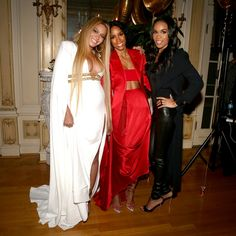 Beyonce, Kelly Rowland, and Michelle Williams at Solange's Private Grammy Afterparty 2017