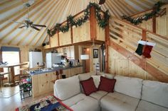 Fortress Yurt Design - Spirit Mountain Yurts in NM Base price for the 30' is $10,000 all the bells and whistles for $16,000