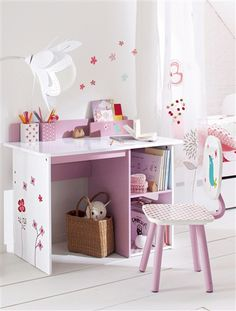 Kids' bedroom ideas - fun ideas for children's rooms that don't scrimp on style. In fact, it opens up a whole new world of exciting design possibilities, even for small rooms. Unique Furniture, Kids Furniture, Baby Room Decor, Bedroom Decor, Bedroom Ideas, Study Table Designs, Kids Room Organization, Cupboard Design, Kid Desk