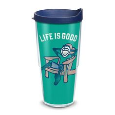 Life is Good Adirondack Chair Tumbler by Tervis, Multicolor