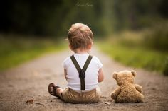 Father Photographs the Magical Adventures of His Son & Teddy Bear