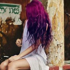 Violet hair :)
