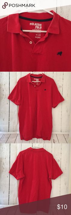 Old navy the classic polo red large polo shirt Great condition! Measurements are posted on the pictures. Please check! Bundle & save! Ask questions if u want a lower price or save on shipping. Thank you Old Navy Shirts Polos