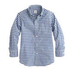 A classic shirt that's finished with our signature Secret Wash and preshrunk for a true fit—meaning no surprises after the first wash. <ul><li>Prewashed and preshrunk.</li><li>Cotton.</li><li>Button-down collar.</li><li>Chest pocket.</li><li>Machine wash.</li><li>Import.</li></ul>