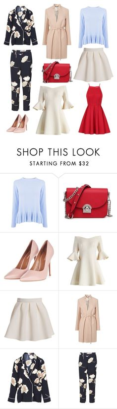 """""""spring wanties"""" by alicejoergensen on Polyvore featuring Warehouse, Topshop, Chicwish and Chi Chi"""