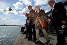 Centenário silencioso relembra a partida do navio Titanic da cidade inglesa de Southampton.