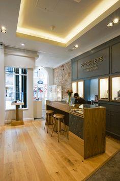 Jewellery shop designer - chichester - interior
