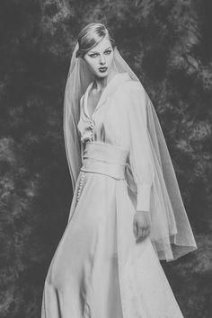Vestidos de novia de Isabel Nuñez: originalidad y elegancia