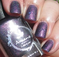 Arcane Lacquer Astral Projection Collection Swatches