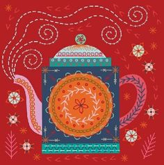 Lovebirds Stitch Kit - Nancy Nicholson - Sewing Set - Embroidery - UK - www.backstitch.co.uk
