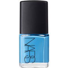 Nars Nail Polish in Ikiru Light Blue ($23) ❤ liked on Polyvore featuring beauty products, nail care, nail polish, nails, makeup, beauty, fillers, light blue nail polish and nars cosmetics