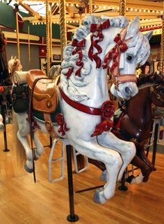 Missoula, Montana Carousel 39 by ~Falln-Stock on deviantART Pretty Horses, Beautiful Horses, Merry Go Round Carousel, Carosel Horse, Amusement Park Rides, Wooden Horse, Big Sky Country, Painted Pony, Horse Art