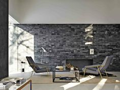 View full picture gallery of Glass House - Molteni&C. Chair Design, Furniture Design, Interior Architecture, Interior Design, Italian Furniture, Living Room With Fireplace, Glass House, Living Room Inspiration, Living Room Interior