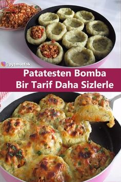 Turkish Recipes, Italian Recipes, Fish And Meat, Fresh Fruits And Vegetables, Breakfast Recipes, Food And Drink, Yummy Food, Stuffed Peppers, Meals