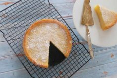 Easy Crustless Lemon Tart - Recipe Winners Lemon Dessert Recipes, Delicious Cake Recipes, Lemon Recipes, Pastry Recipes, Tart Recipes, Sweets Recipes, Yummy Cakes, Baking Recipes, Apple Desserts