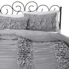 Xhilaration® Textured Comforter Set- Bought this for our bedroom.