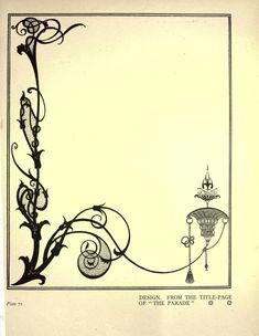 Aubrey Beardsley - Illustration - Art Nouveau - Later work