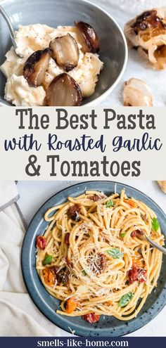 Dreaming of comfort food? This dish is just what you need in your life. Filled with satisfying pasta, garlic butter, and roasted toamtoes its bound to be your new favorite. Rigatoni Recipes, Yummy Pasta Recipes, Easy Dinner Recipes, Butter Sauce For Pasta, Garlic Butter Pasta, Roasted Tomato Pasta, Roasted Garlic, Dinner Dishes, Pasta Dishes