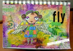 "April 15th 2017   This week at the Vera Lane Studio Facebook Group  we have been having a ""Winged Things"" theme for all of our creations! I..."