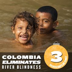 We're highlighting one of the huge NTD successes of 2013. This July, Colombia became the first country in the Americas  to eliminate river blindness! Read the The Carter Center's press release to see how Colombia and global partners made it happen: http://www.cartercenter.org/news/pr/colombia_072913.html