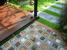 garden decoration art with stones 3