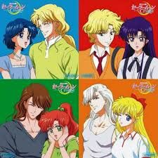Image result for sailor moon crystal kunzite and venus