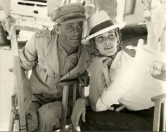 Peter O'Toole, Sian Phillips (wife) on set of Lawrence of Arabia, 1962
