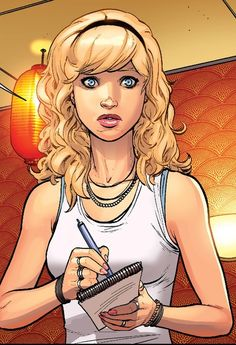 The Marvel Art of David Marquez - Ultimate Gwen Stacy