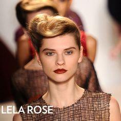 Vintage Hair  Lela Rose Fall 2012 Beauty Look