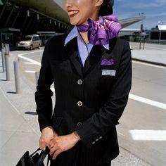BRIAN FINKE flight attendants  All Nippon Airways 2006