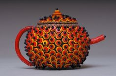 Cool looking red teapot