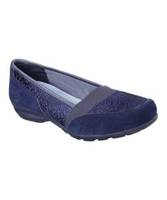 Gorgeous! Sketchrrs $27.99  Look at this #zulilyfind! Navy Relaxed Fit Career Loafer #zulilyfinds