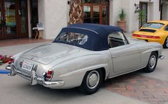 Mercedes Benz #190SL. Seen on: http://funny-pictures.picphotos.net. For all your Mercedes Benz #190SL restoration needs please visit us at http://www.bruceadams190sl.com. #BruceAdams190SL.