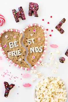 Check out these amazing ways to celebrate Galentine's Day with your BFFs. – Brit Morin Check out these amazing ways to celebrate Galentine's Day with your BFFs. Check out these amazing ways to celebrate Galentine's Day with your BFFs. Valentines Day Treats, Be My Valentine, Valentine Day Gifts, Walmart Valentines, Valentine Party, Valentine Ideas, Funny Valentine, Vintage Valentines, Valentinstag Party