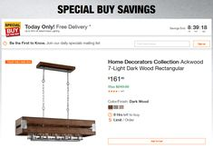 Home Depot Coupons Home Depot Coupons, Specials Today, Printable Coupons, Large Homes, Dark Wood, Coupon Codes, Light In The Dark, The Selection, Georgia