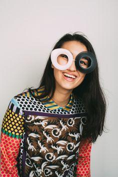 3D printed Eyewear by Nasim Sehat #3dPrintedEyewear