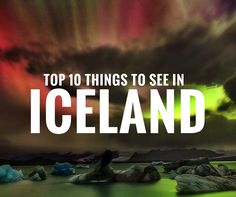 Top 10 Things To Do In Iceland -Iceland is one of the most amazing countries in the world. Click through to read the top 10 things to do in Iceland!Visiting the black sand beach in Vik is definitely a must. The sand is crushed lava rock formed when it reaches the frigid ocean.  A beautiful beach to visit, but not where I chose to sun tan.  Half way down the beach is a large vaulted cavern called Hálsanefeshellir (obviously...