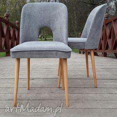 muszelka dom pomarańczowe krzesło