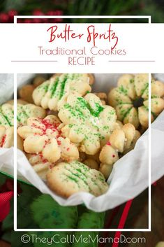 My Traditional Butternut SprItz Cookies are quite possibly a holiday tradition to every family I know! A wonderful German treat that is a delicate, crisp, little cookie with a deep buttery flavor and a hint of almond. German Christmas Cookies, German Cookies, Christmas Baking, Butter Spritz Cookies, Yummy Treats, Delicious Desserts, Traditional Christmas Desserts, Kinds Of Cookies, Polish Recipes