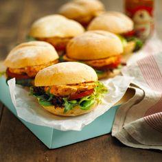 nandos mini pequeno burgers